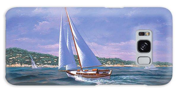Sailing On Monterey Bay Galaxy Case