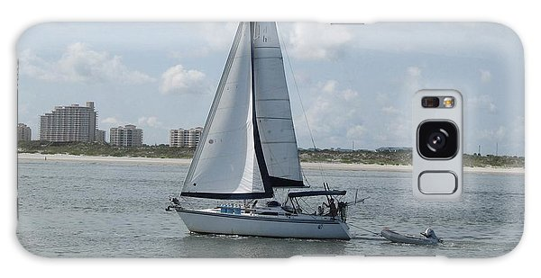 Sailing Ponce Inlet Florida Galaxy Case by Brian Johnson