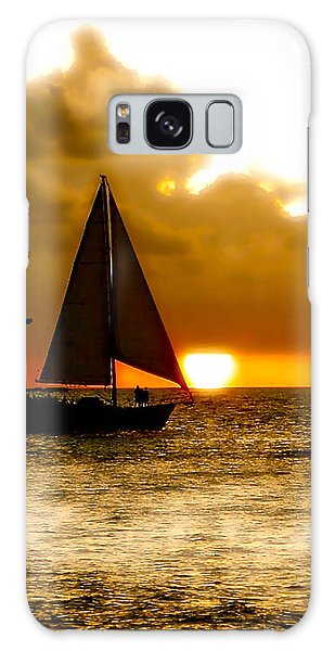 Sailing The Keys Galaxy Case by Iconic Images Art Gallery David Pucciarelli