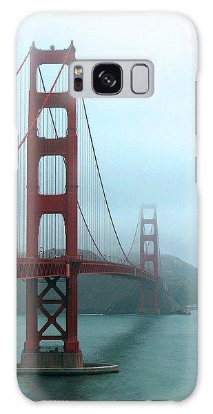 Sailing Under The Golden Gate Bridge Galaxy Case