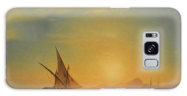 The Sky Galaxy Case - Sails In The Sunset by Isabella Howard