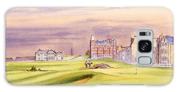 Saint Andrews Golf Course Scotland - 17th Green Galaxy Case