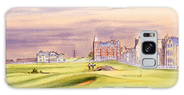 Saint Andrews Golf Course Scotland - 17th Green Galaxy Case by Bill Holkham
