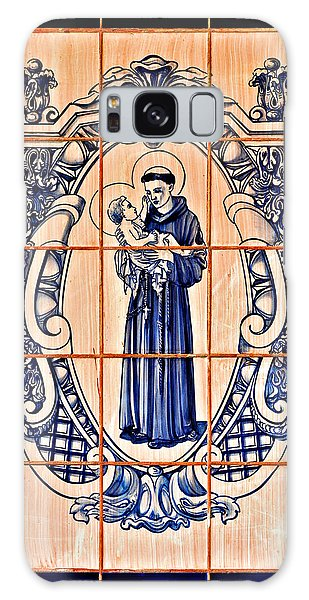 Saint Anthony Of Padua Galaxy Case