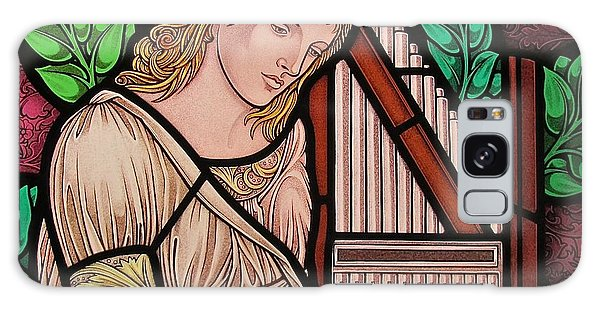 Saint Cecilia Galaxy Case by Gilroy Stained Glass
