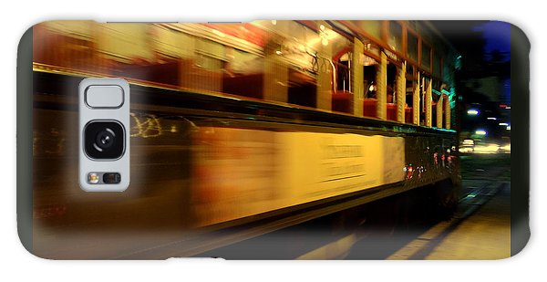 New Orleans Saint Charles Avenue Street Car In  Louisiana #7 Galaxy Case by Michael Hoard