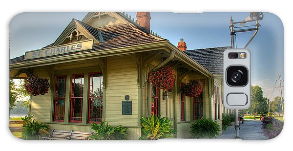 Saint Charles Station Galaxy Case by Steve Stuller