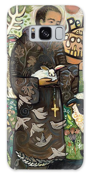 Peace Galaxy Case - Saint Francis by Jen Norton