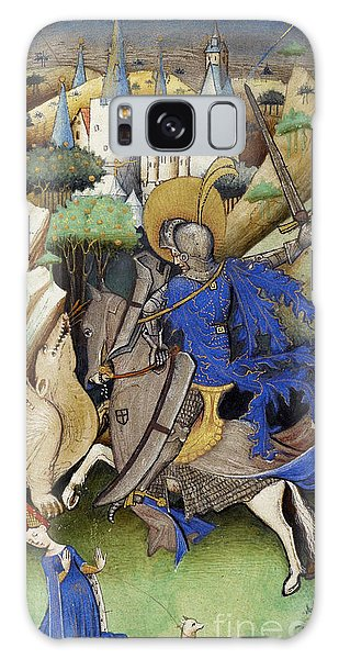Art Institute Galaxy Case - Saint George And The Dragon by Getty Research Institute