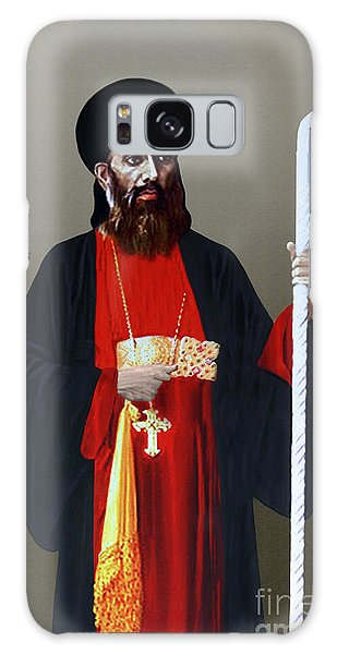 Saint Gregorios Of Parumala Galaxy Case by A Samuel