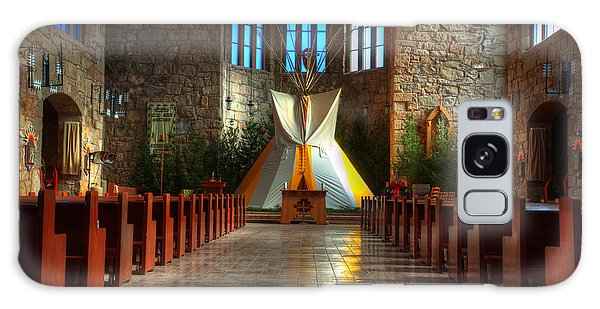 Saint Josephs Apache Mission Galaxy Case by Bob Christopher