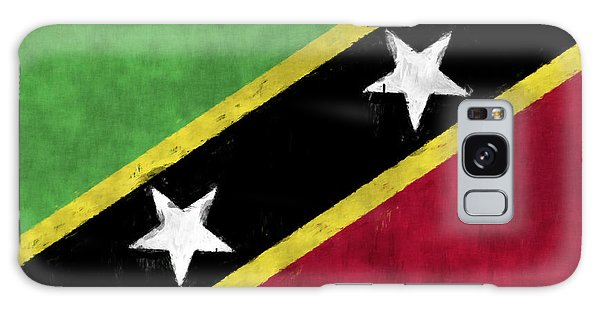 Bahamas Galaxy Case - Saint Kitts And Nevis Flag by World Art Prints And Designs