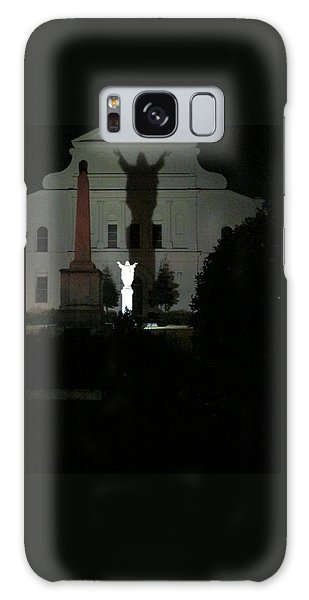 Saint Louis Cathedral Courtyard - New Orleans La Galaxy Case by Deborah Lacoste