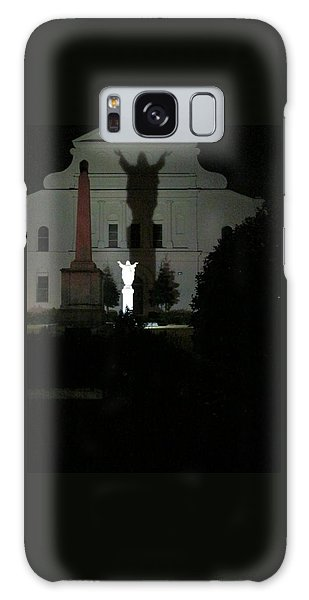 Saint Louis Cathedral Courtyard - New Orleans La Galaxy Case