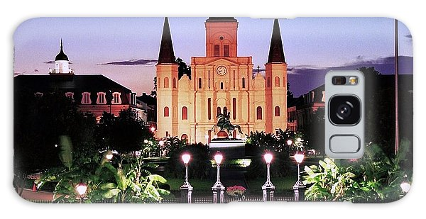 Saint Louis Cathedral New Orleans Galaxy Case