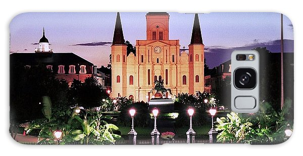 Saint Louis Cathedral New Orleans Galaxy Case by Allen Beatty