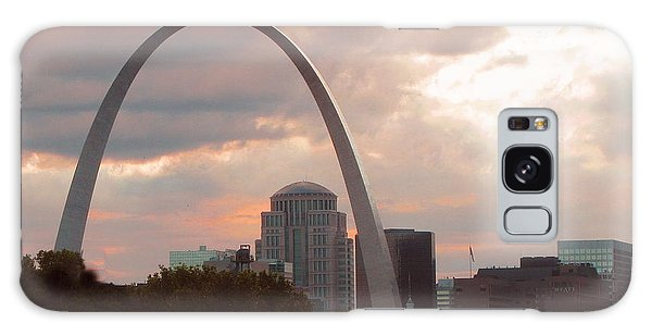 St Louis Mo Galaxy Case - Saint Louis Gateway Arch by Marilyn Smith
