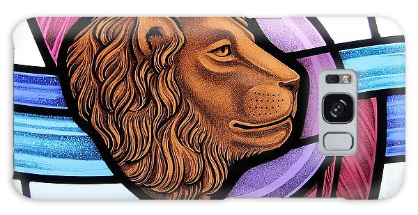 Saint Mark Lion Galaxy Case by Gilroy Stained Glass