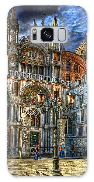Saint Marks Square Galaxy Case by Jerry Fornarotto