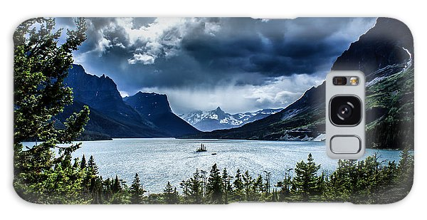 Saint Mary Lake Galaxy Case