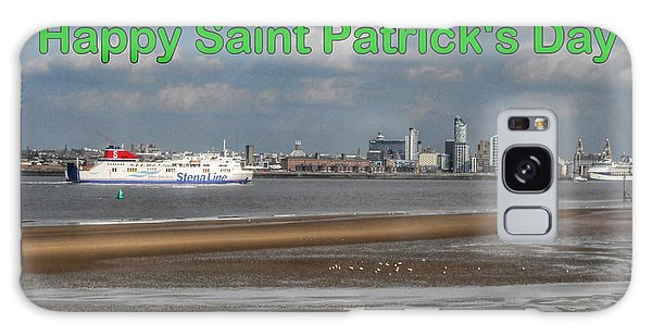 Saint Patrick's Greeting Across The Mersey Galaxy Case