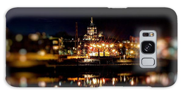 Saint Paul Cathedral At Night Galaxy Case by Jimmy Ostgard