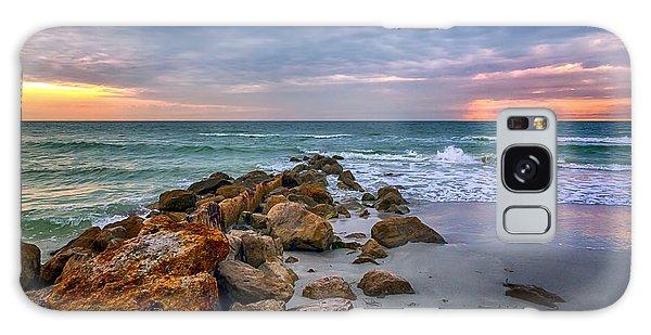 Saint Pete Beach Stormy Sunset Galaxy Case