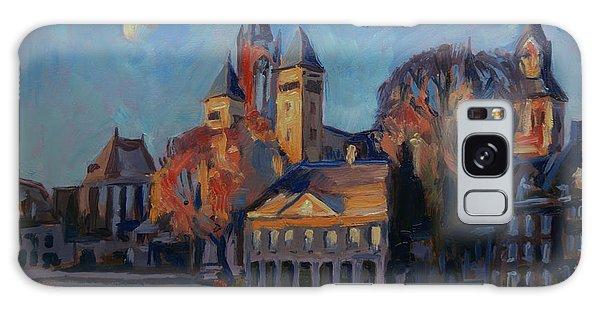 Saint Servaas Basilica In The Morning Galaxy Case