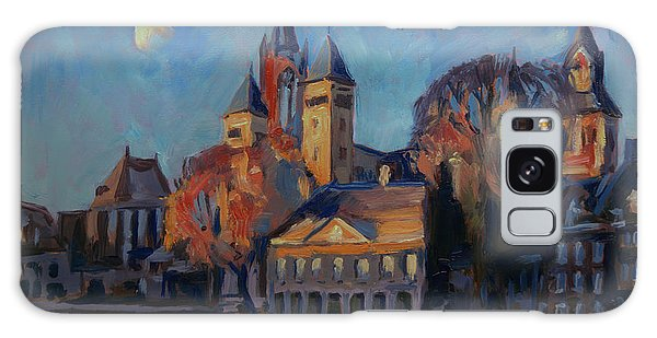 Saint Servaas Basilica In The Morning Galaxy Case