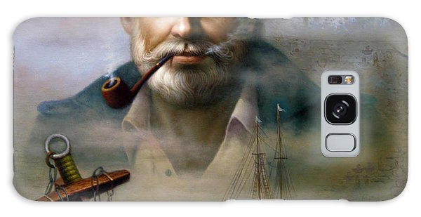 Saint Simons Island Sea Captain 2 Galaxy Case