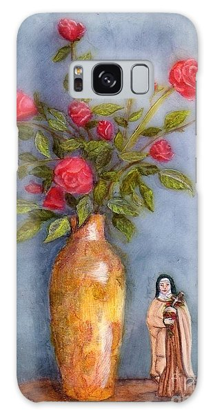 Saint Therese Of The Little Flower Galaxy Case