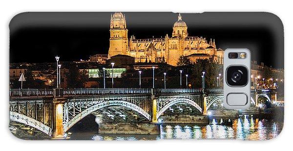 Salamanca At Night Galaxy Case by JR Photography