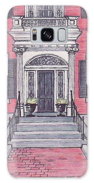 Salem Essex Street Front Door Galaxy Case