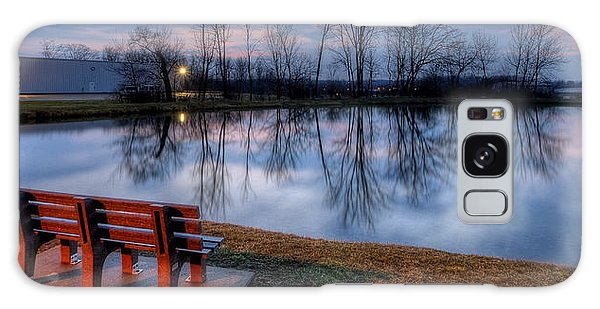 Salem Ohio Industrial Park Sunset Galaxy Case