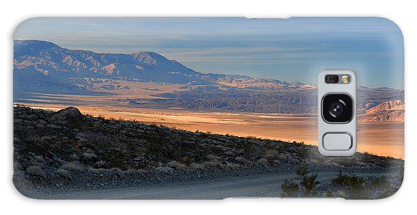 Saline Valley Byway Sunset November 17 2014 Galaxy Case