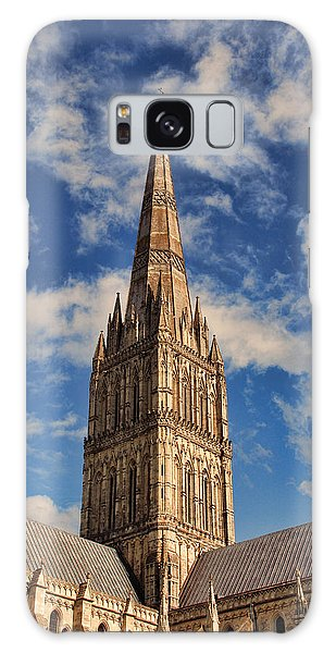Salisbury Cathedral Galaxy Case by Oscar Alvarez Jr
