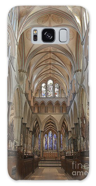 Salisbury Cathedral Quire And High Altar Galaxy Case