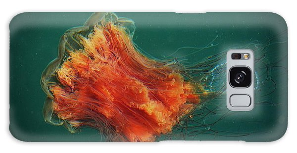 Salish Sea Jelly Drama Galaxy Case by Gayle Swigart