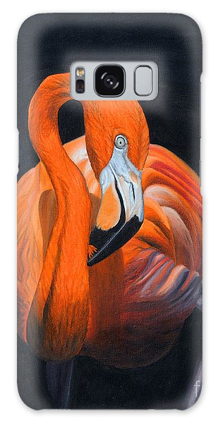 Sally The Flamingo Galaxy Case