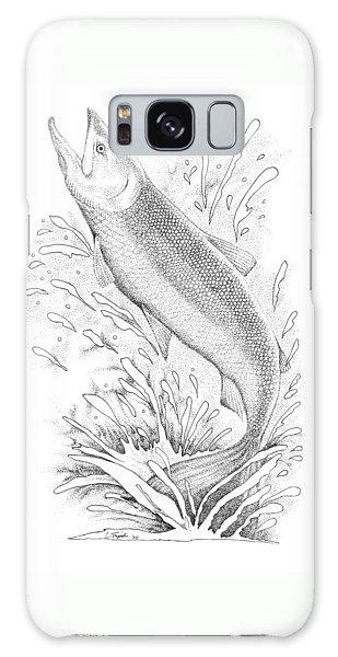 Salmon Galaxy Case