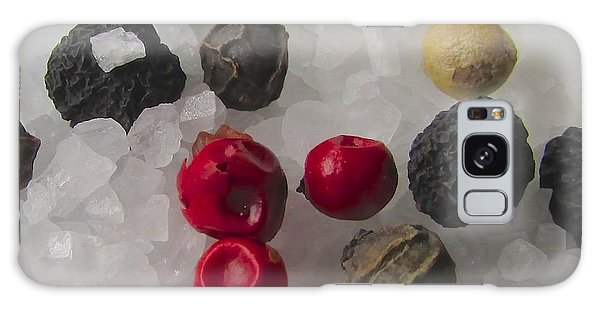Salt And Pepper Galaxy Case by Brenda Pressnall