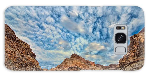 Salt Creek Clouds Galaxy Case by Britt Runyon