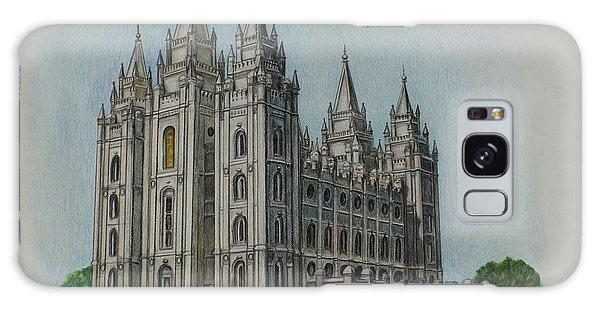 Salt Lake City Temple I Galaxy Case