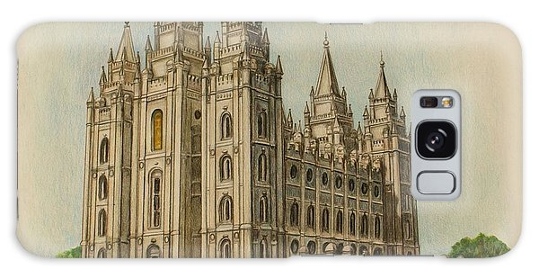 Salt Lake City Temple II Galaxy Case