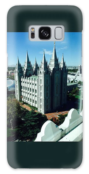 Salt Lake Temple The Church Of Jesus Christ Of Latter-day Saints The Mormons Galaxy Case by Richard W Linford