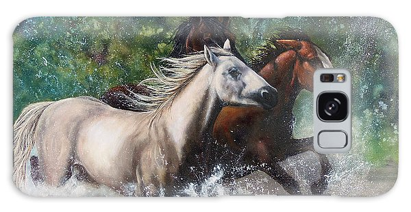 Salt River Horseplay Galaxy Case