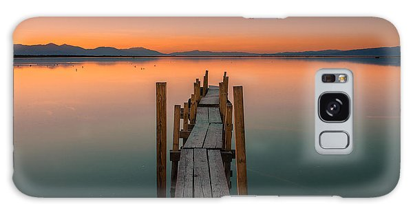 Salton Sea Dock Galaxy Case