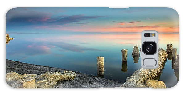 Salton Sea Reflections Galaxy Case