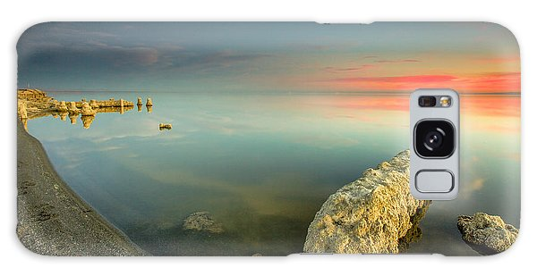 Salton Sea Sunset Galaxy Case