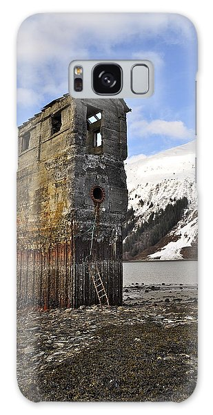Saltwater Pump House Galaxy Case by Cathy Mahnke